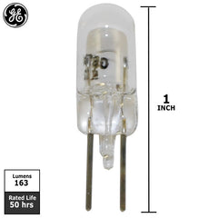 GE  785 - 8w 6v T2.25 G4 Base Miniature Low Voltage Bulb