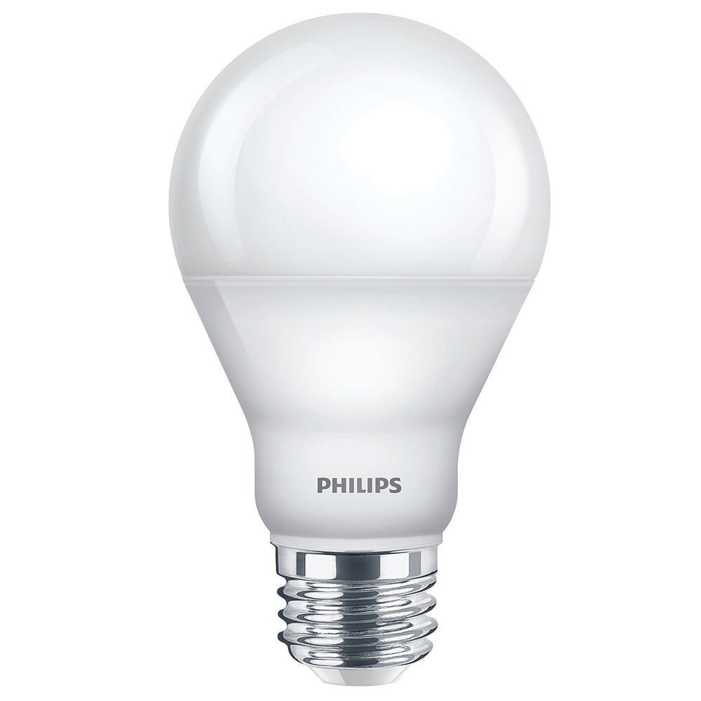 Philips WarmGlow 6.5W A19 Warm White LED light Dimmable Bulb - 40w equiv.