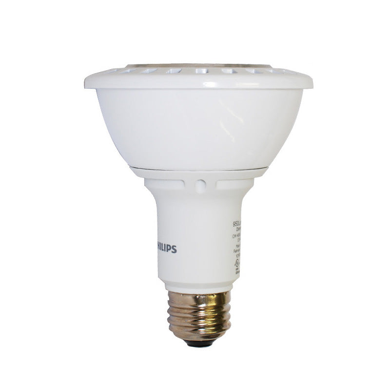 Philips 12.5w PAR30L Dimmable LED Warm White Flood Airflux Light Bulb