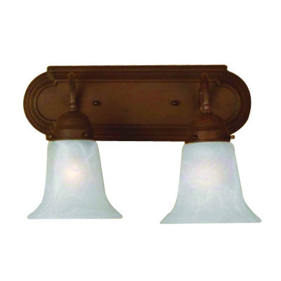 Sunlite B214D/DB/AL 2 light 60w 14 inch down sconce fixture