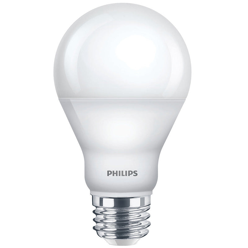 Philips 9W Dimmable LED A19 Shape White Bulb - 60w equiv.