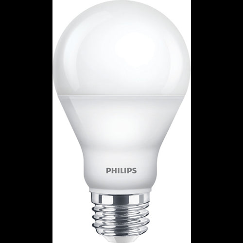 Philips 9.5W A19 2700K Warm White LED Dimmable Frosted Light Bulb - 60w equiv.
