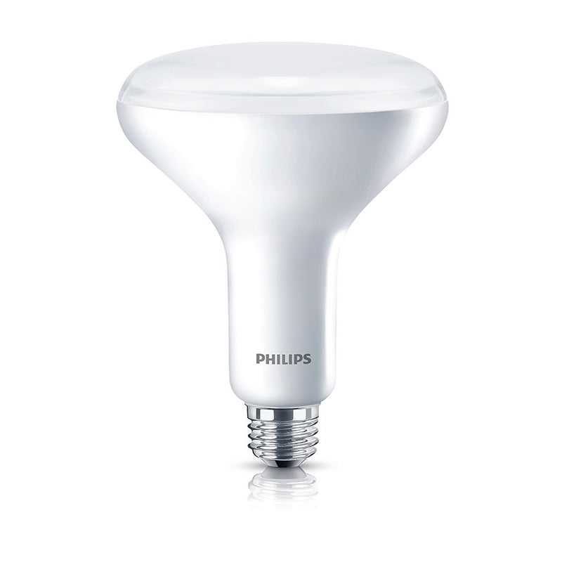 Philips 457010 10w BR40 LED Dimmable Flood Soft White Bulb - 65w equiv.