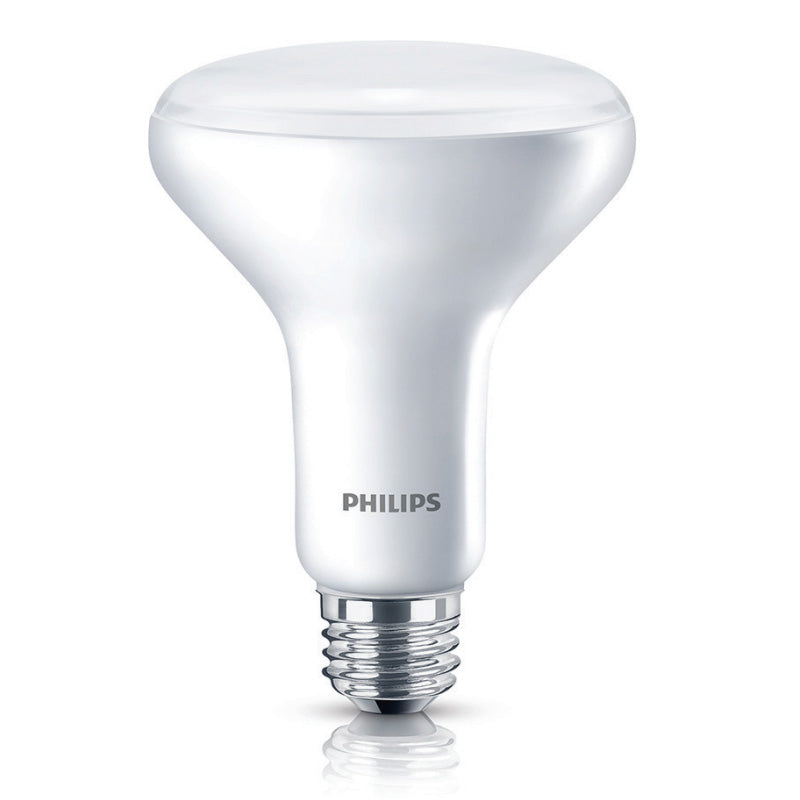 Philips 9.5W BR30 LED 2700K White Dimmable Bulb - 65w equiv.