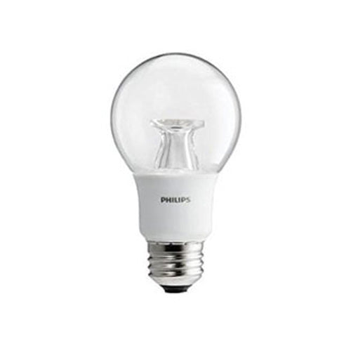 Philips 7w Dimmable LED A19 Shape Clear Warm Glow Bulb - 40w equiv.