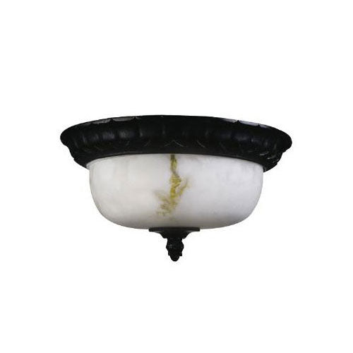 Sunlite S1000A 15 inch Decorative Dome Weathered Bronze Fix Alabaster Fixture