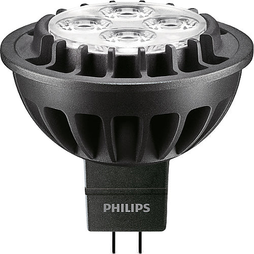 Philips 7W MR16 LED Dimmable Warm White Narrow Spot NSP15 Bulb - 35w equiv.