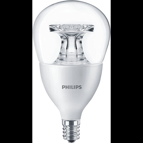 Philips 5.5w Dimmable LED A15 E12 Base Clear Warm Glow Bulb - 40w equiv.