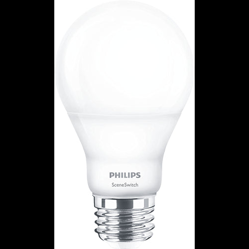Philips 9w-4w-2w Non-Dimmable LED A19 Shape Frosted Finish Bulb - 60w equiv.