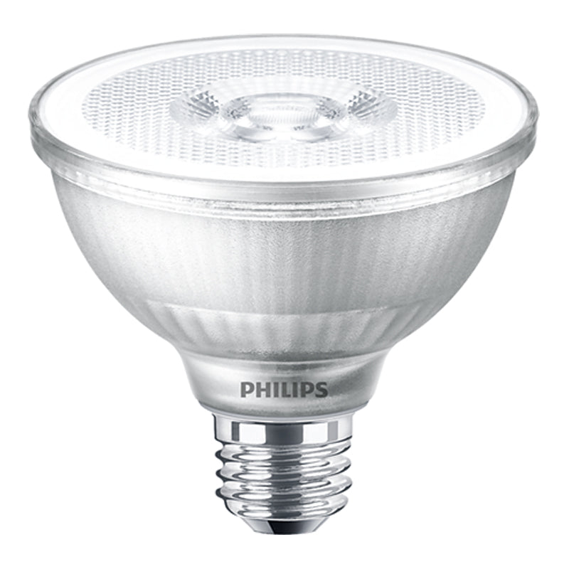Philips 12W PAR30S LED 3000K White Flood Single Optics Bulb