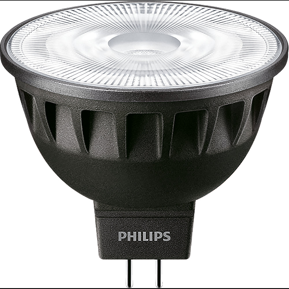 PHILIPS 7W MR16 LED Flood 3000K Non-DImmable ExpertColor light bulb