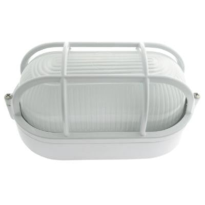 SUNLITE ODI1030 White Oval Wall Mount outdoor fixture