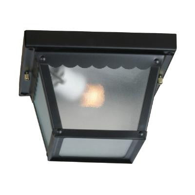 Sunlite ODI1095 2 light 60w black porch fixture