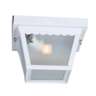 Sunlite ODI1096 2 light 60w white porch fixture