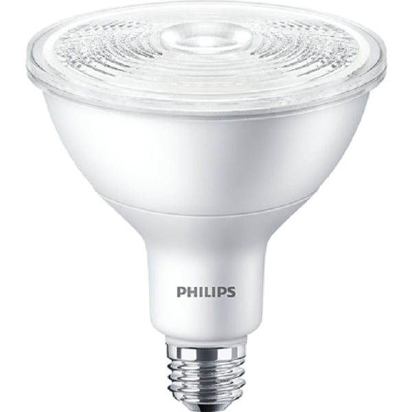 Philips 17W PAR38 LED 3000K White Spot Dimmable Single Optics Bulb