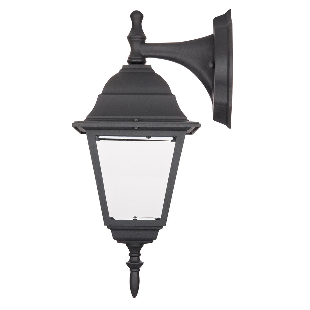 SUNLITE ODI1130 60w black Down-Facing Post Style Outdoor Fixture - Wall Mount