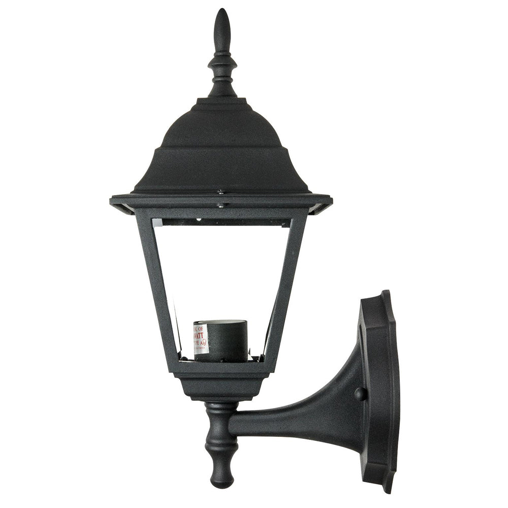 SUNLITE ODI1130 60w black Up-Facing Post Style Outdoor Fixture - Wall Mount