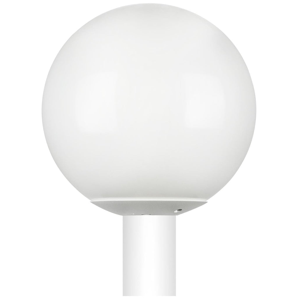 SUNLITE 47227-SU E26 Globe White Outdoor Post Lights