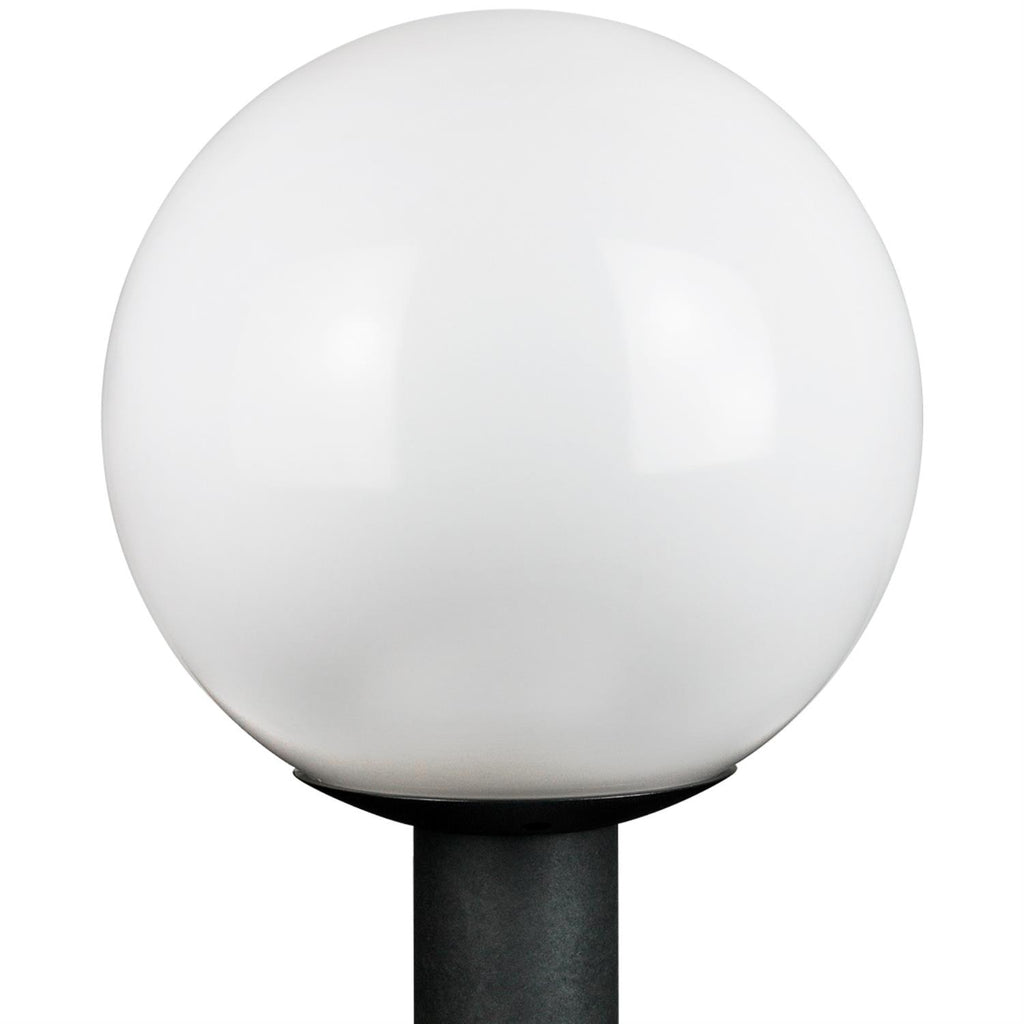 SUNLITE E26 Globe Black Outdoor Post Lights