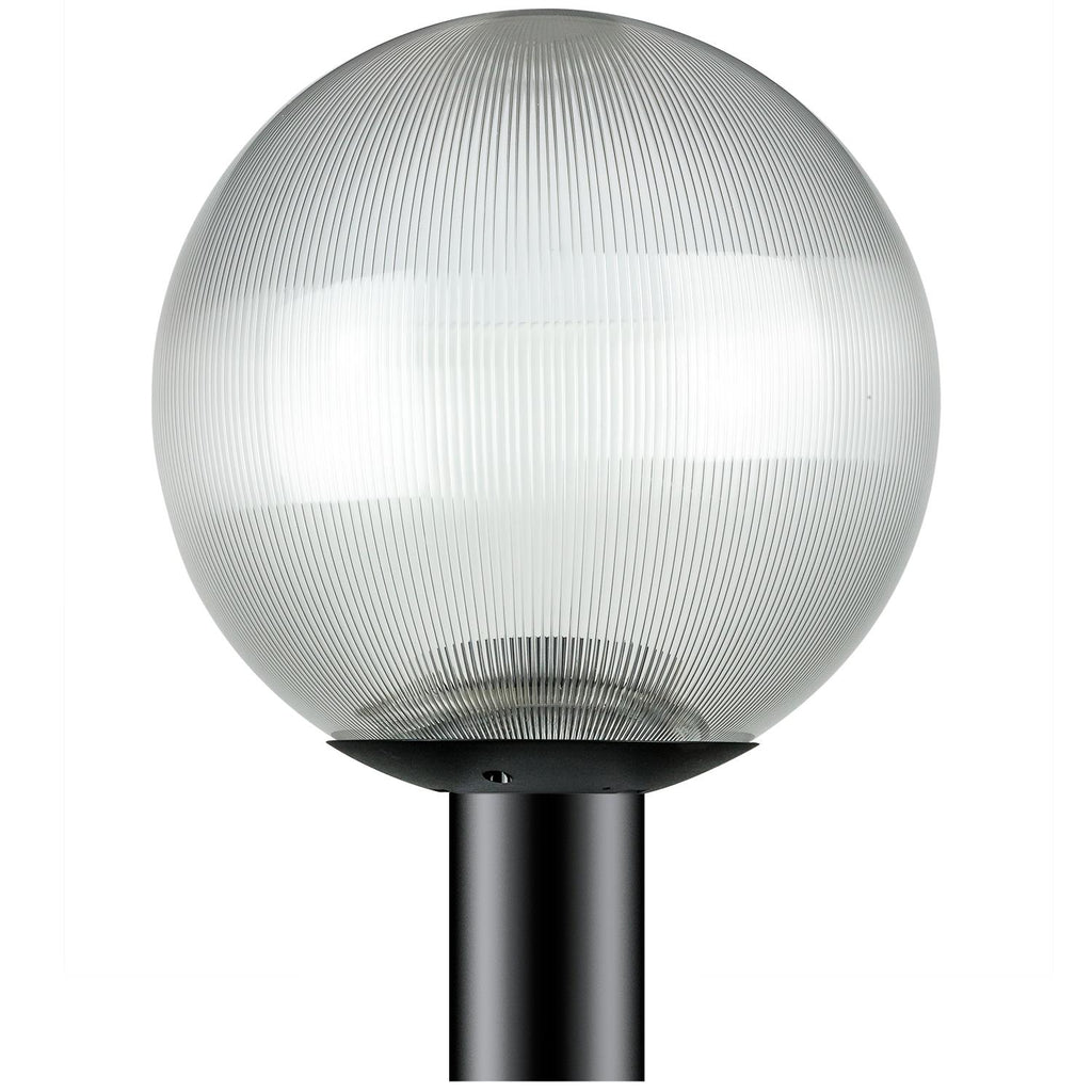 SUNLITE 47229-SU E26 Globe Black Outdoor Post Lights