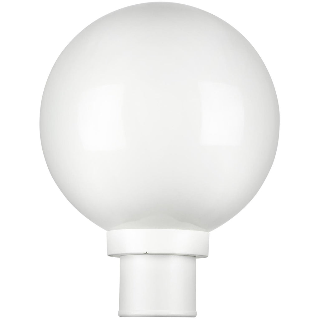 SUNLITE 47244-SU E26 Globe White Outdoor Post Lights