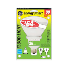 Ge 26w 120v R40 E26 2700k Soft White Compact Fluorescent Light Bulb