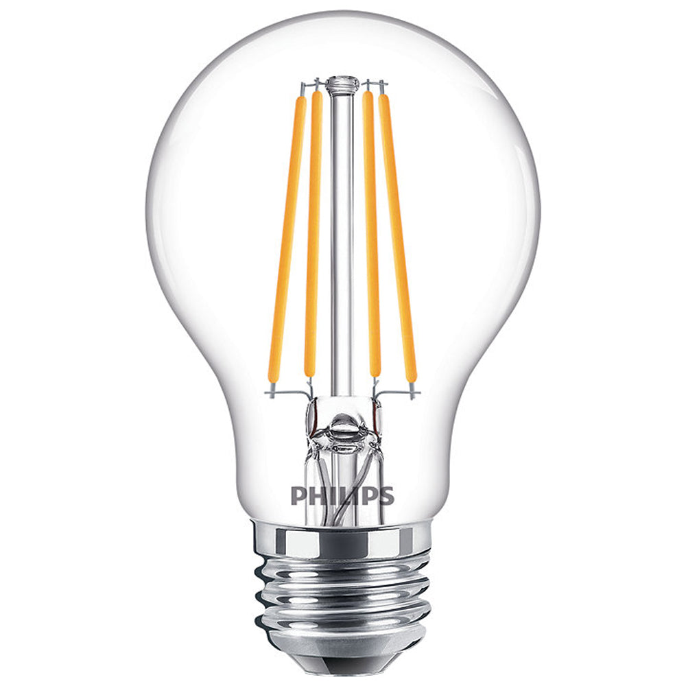 Philips 478644 8.5W LED A19 Daylight Dimmable Filament Bulb - 60w Replacement