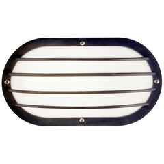SUNLITE 11.3w LED Black Eurostyle Oblong Linear Fixture - 4000K