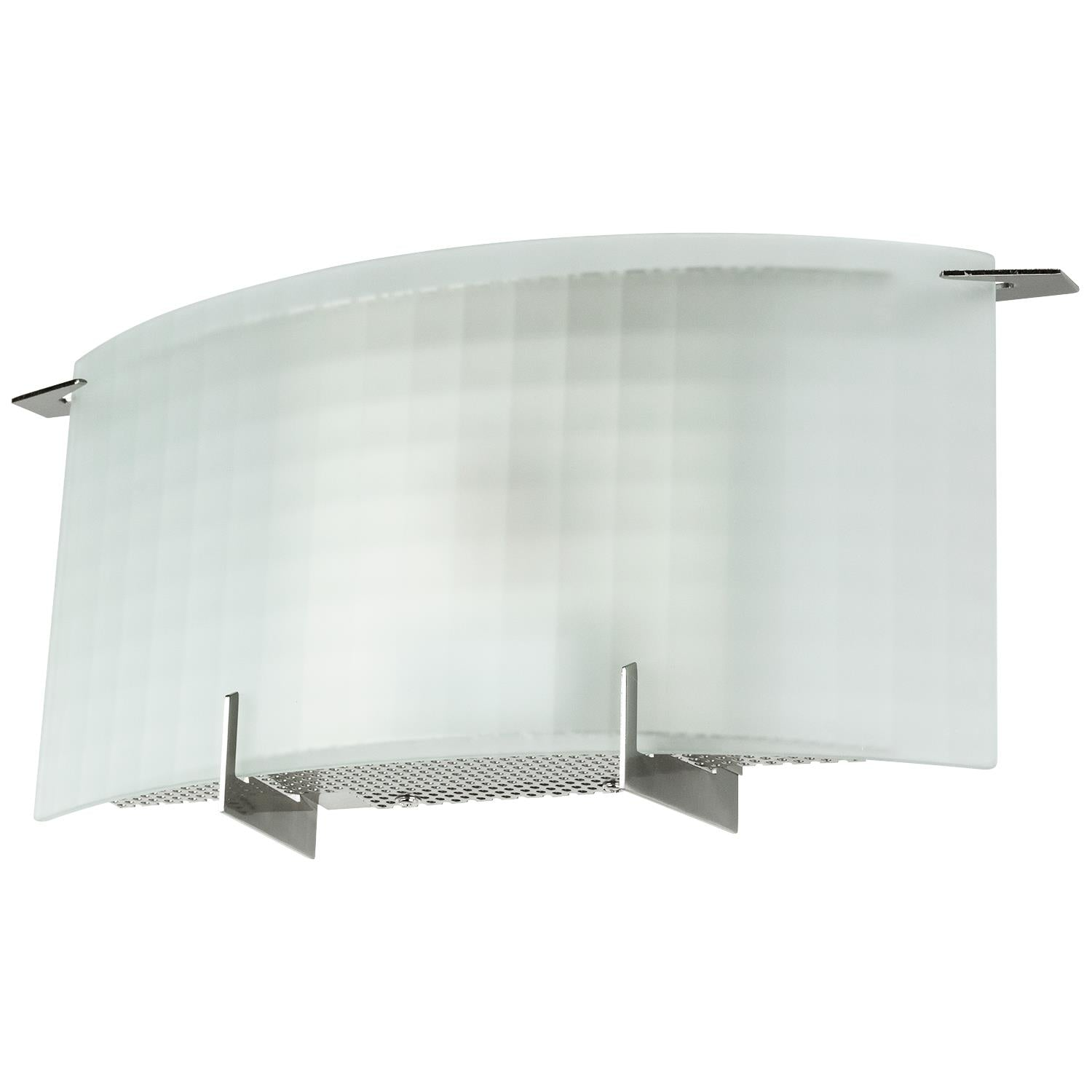 SUNLITE 14in 9w Wall Sconce in Brushed Nickel Finish - 3000K