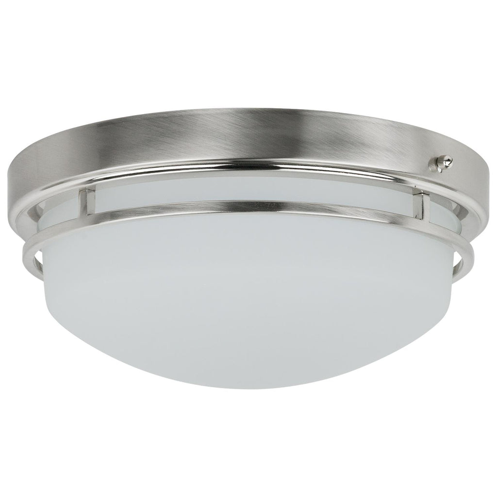 SUNLITE 20w Frosted LED Flush Mount Fixture - 3000K Warm White