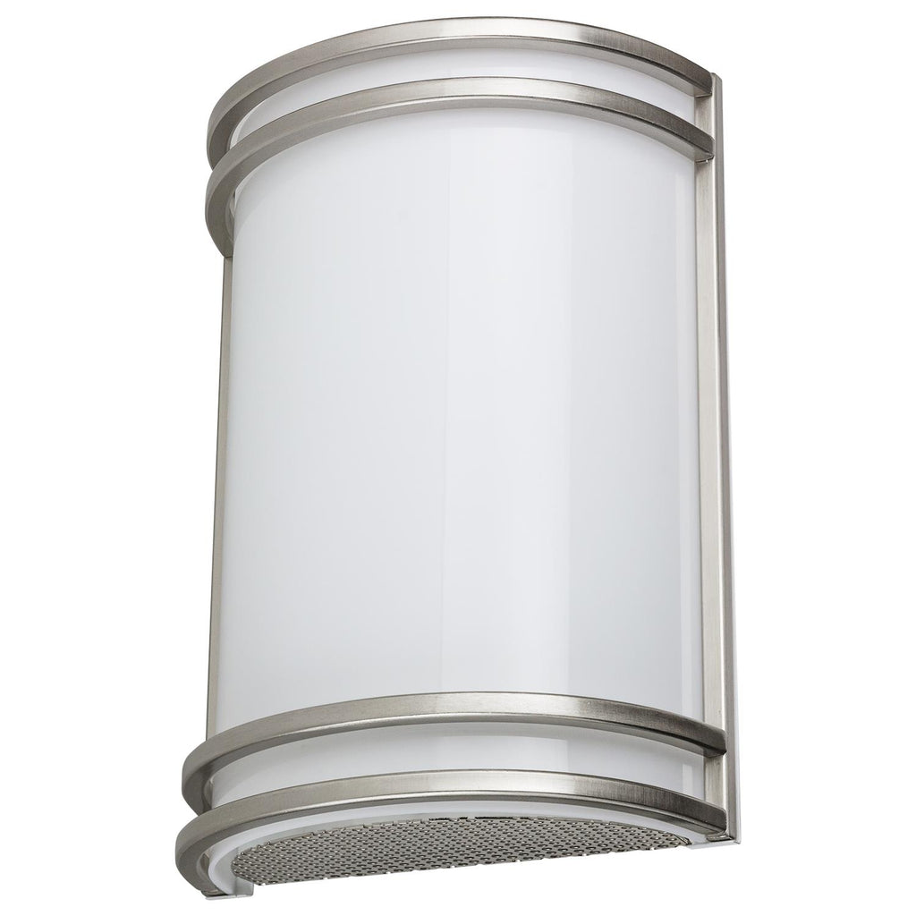 SUNLITE 15w Half Cylinder in Brushed Nickel finish - 3000K