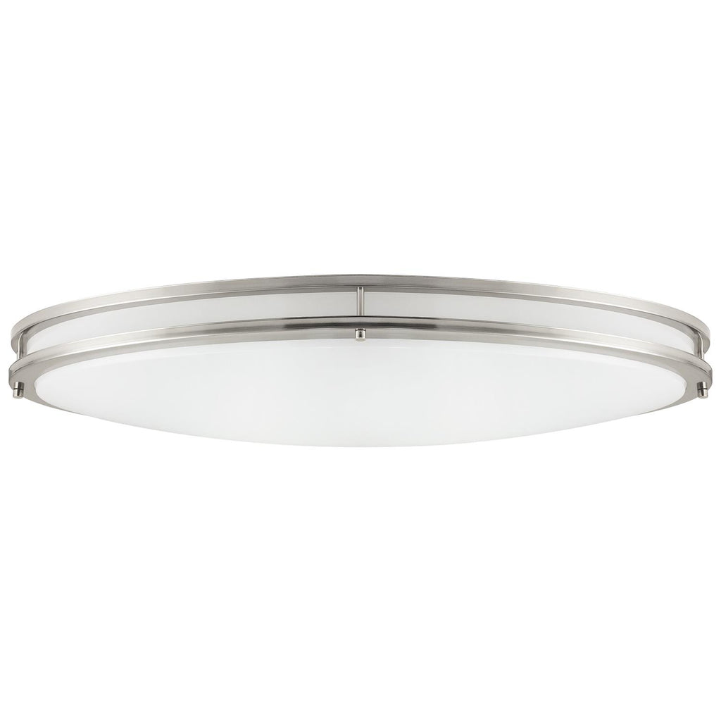 SUNLITE 35w Oval Decorative Light Fixture in Brushed Nickel - 3000K