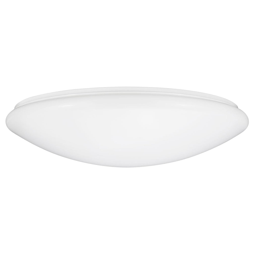 SUNLITE 13in Cool White 18W Mushroom Ceiling Light Fixture
