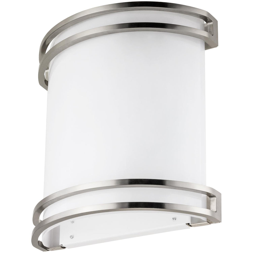 SUNLITE 23W LED Half Cylinder Wall Sconce 4000K Cool White