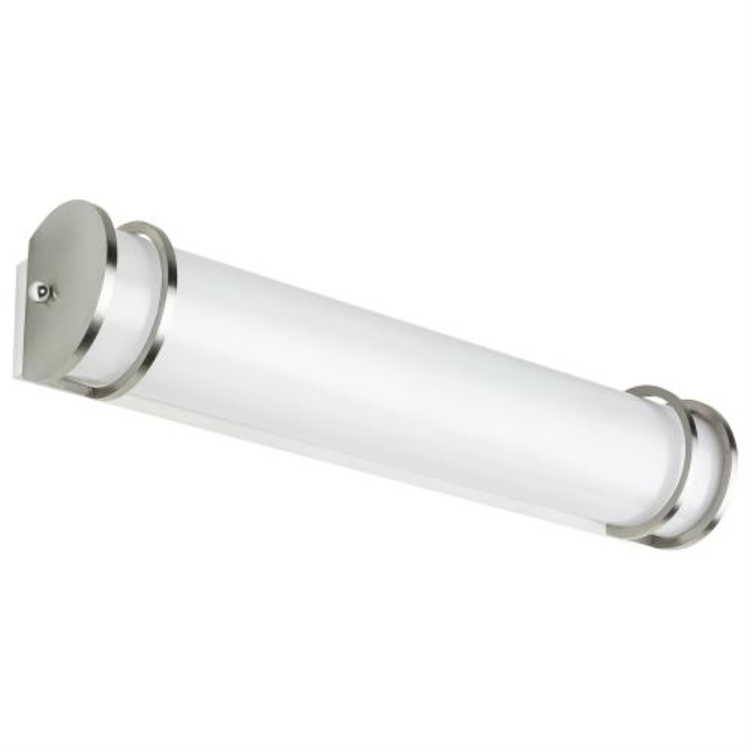SUNLITE 36W 36in. LED Half-Cylinder Vanity Light Fixture Dimmable 3000K Warm White