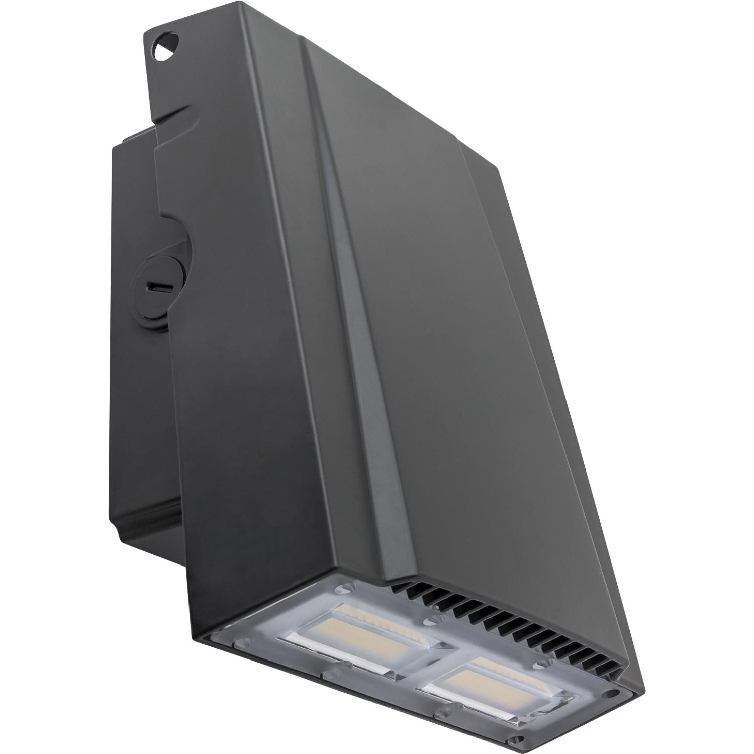 SUNLITE 30W Integrated LED Slim Wallpack fixture 5000K Super White