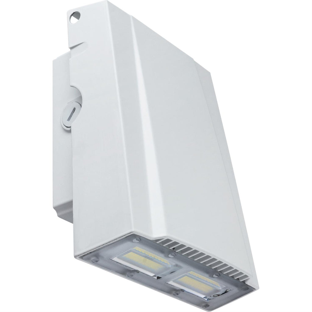 Sunlite 49166-SU 50w LED Slim Profile Wall Pack Fixture in White Finish 5000k