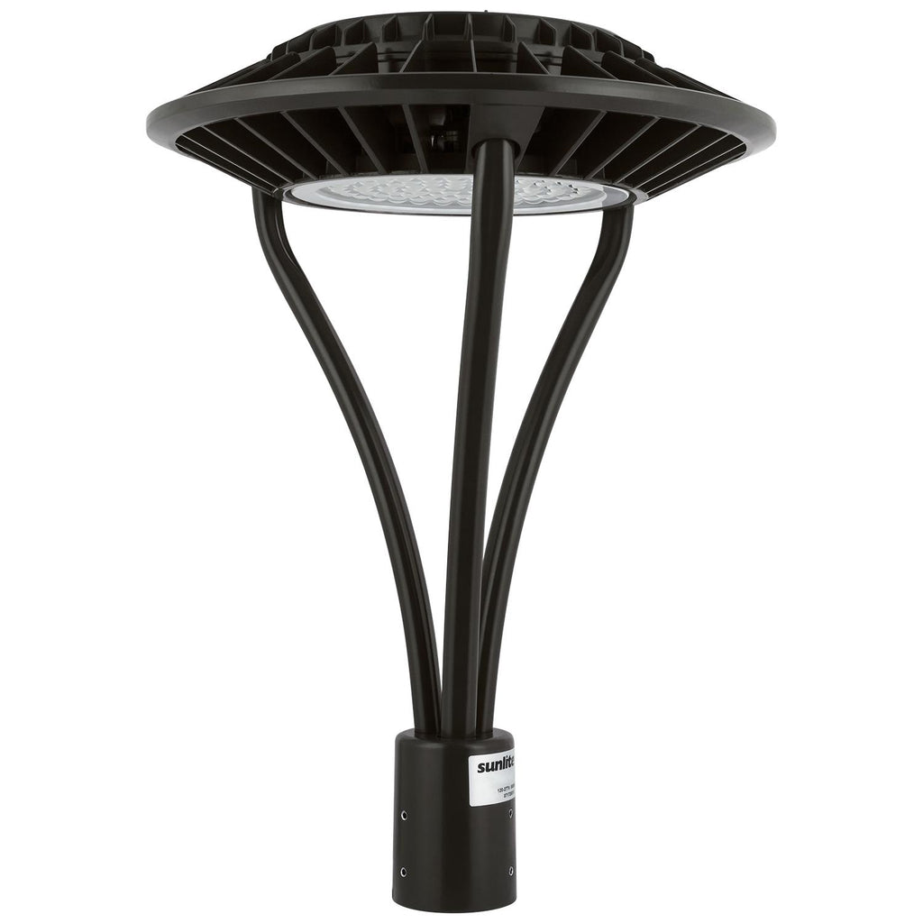 Sunlite 49180-SU 60w LED Circular Pole-Top Fixture in Bronze Finish 5000k