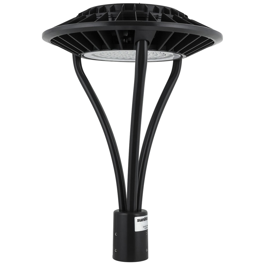 Sunlite 49181-SU 80w LED Circular Pole-Top Fixture in Bronze Finish 5000k