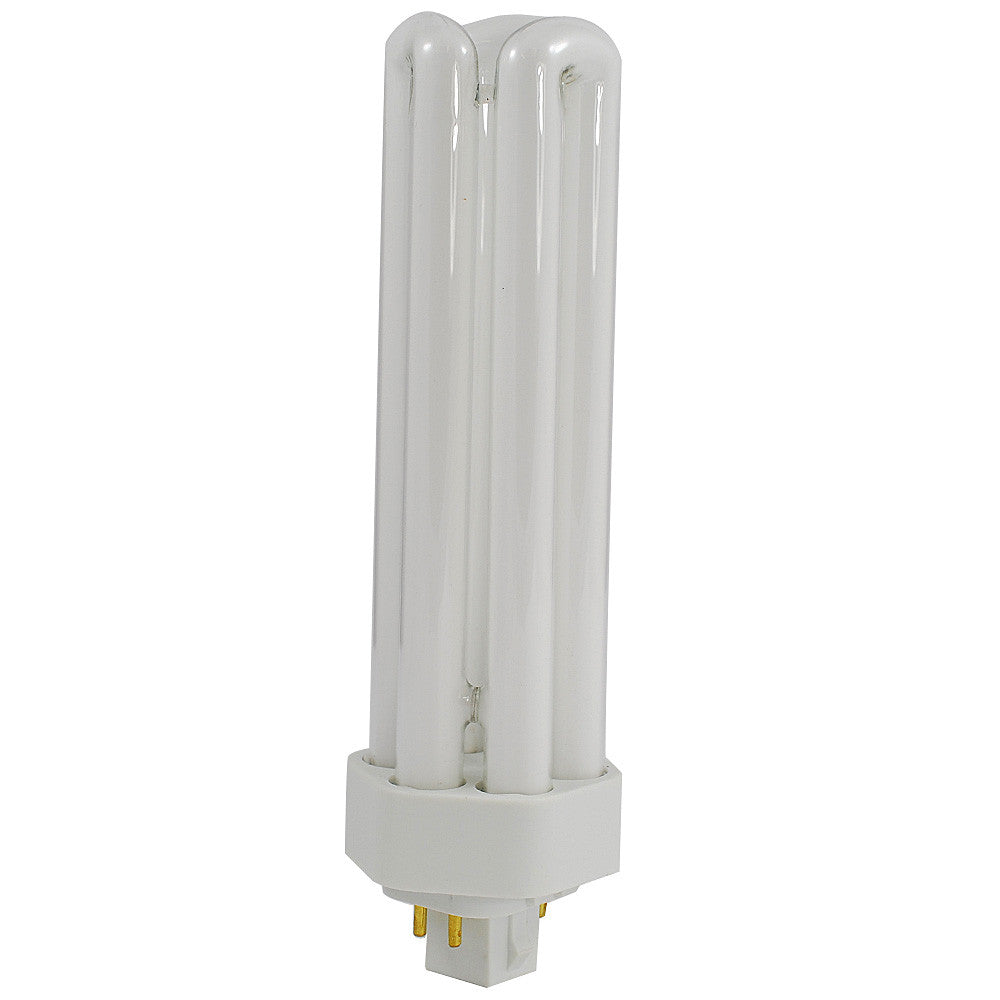 LUXRITE 42W Triple Tube 4-Pin 2700K GX24Q-4 Fluorescent Light Bulb