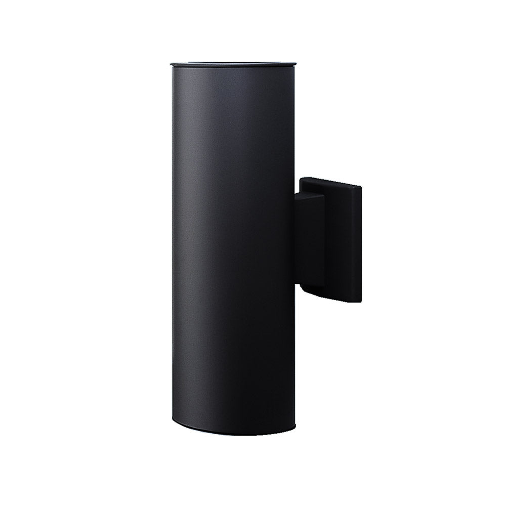 NICOR 12 in. Black Up and Down Bullet Light