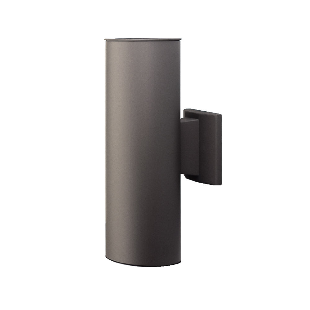 NICOR 15 in. Bronze Wall Mount Cylindar Sconce