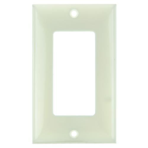 12Pk - SUNLITE 1 Gang Decorative Plate Almond Color E301A