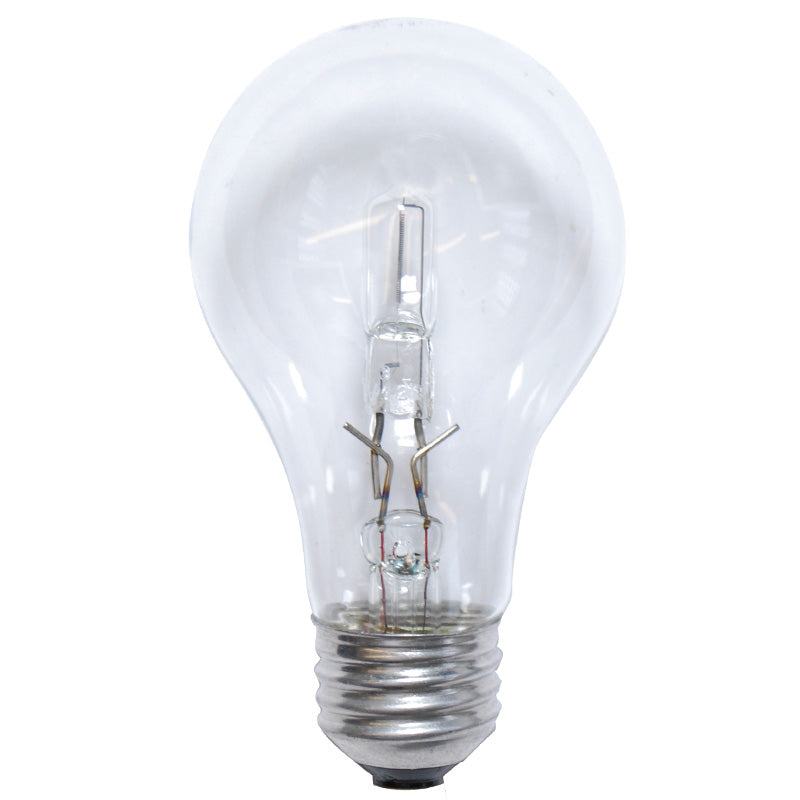 2PK - Sylvania 72w A-Shape A19 E26 Clear Halogen Light Bulb - 100w equiv.