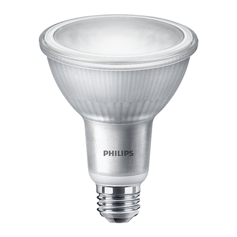 Philips 10w PAR30L Dimmable LED 4000k Cool White Flood 40 Light Bulb
