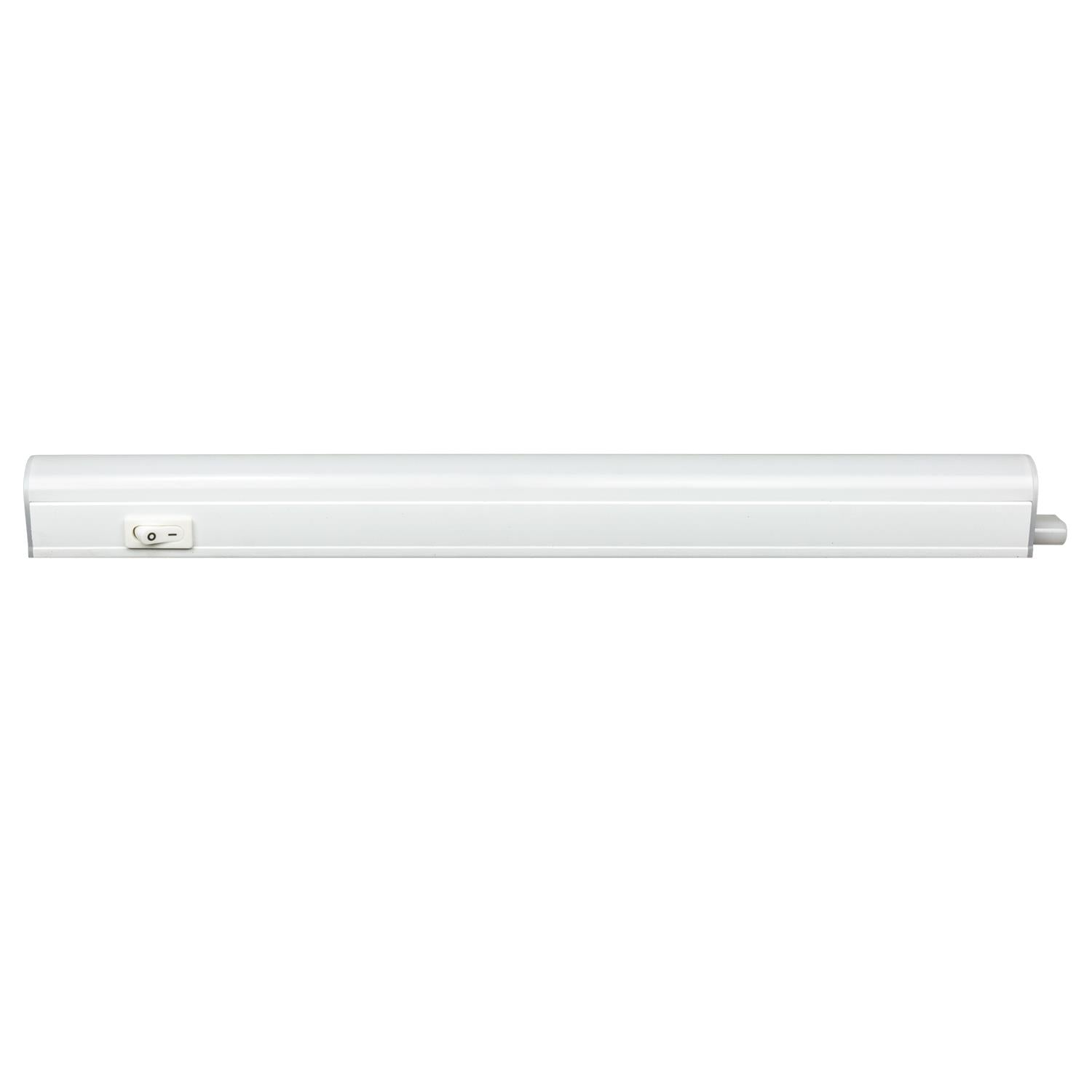 SUNLITE 12in 4W Linkable Under Cabinet Light with Plug - 4000K