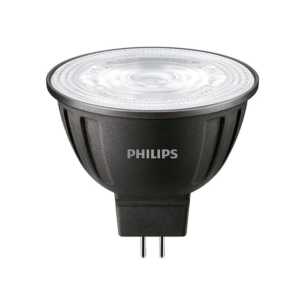 5PK - PHILIPS 7W MR16 LED Non-Dimmable Bright White 3000K Flood 90CRI Bulb