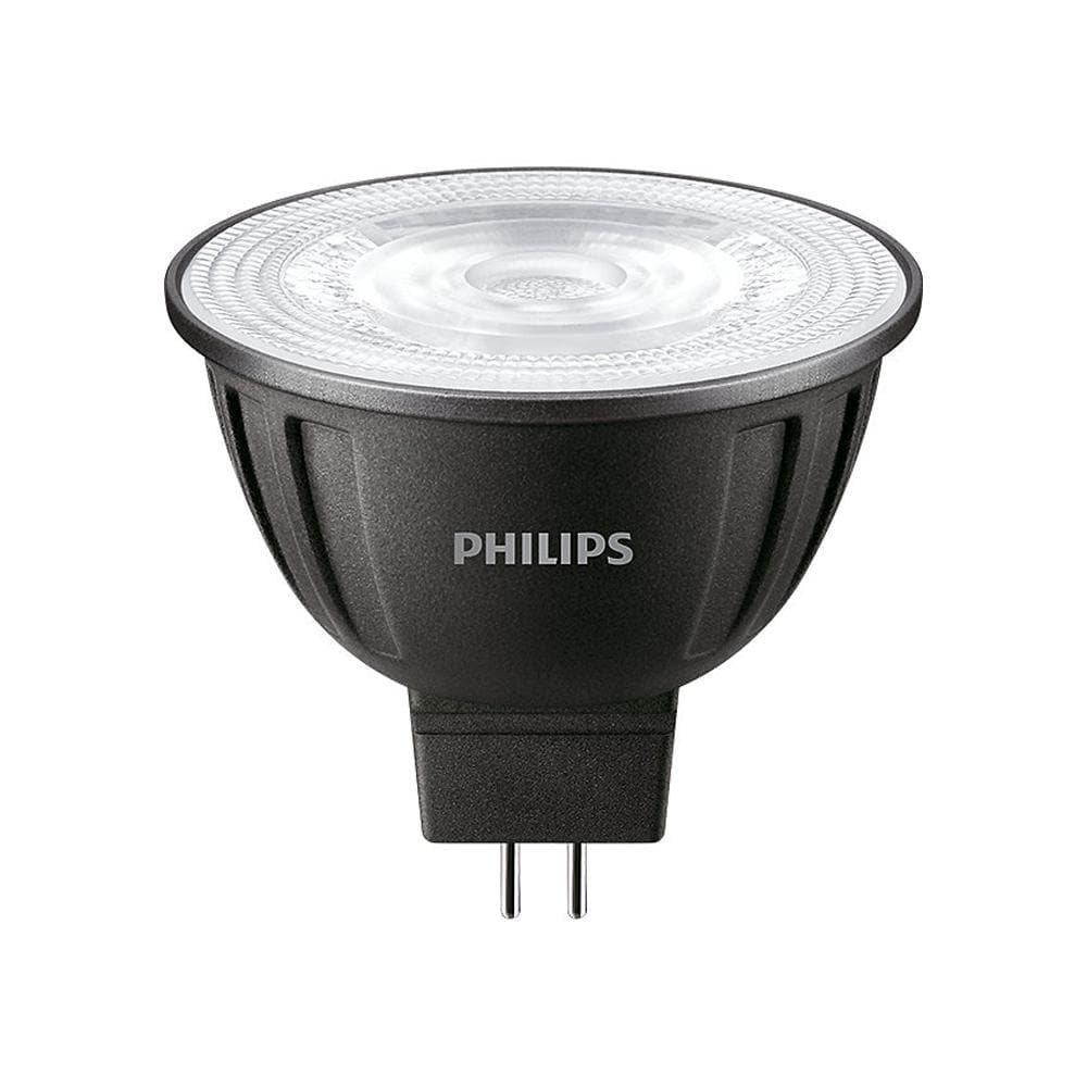 PHILIPS 7W MR16 LED Dimmable Bright White 3000K Flood Light Bulb - 42w equiv.