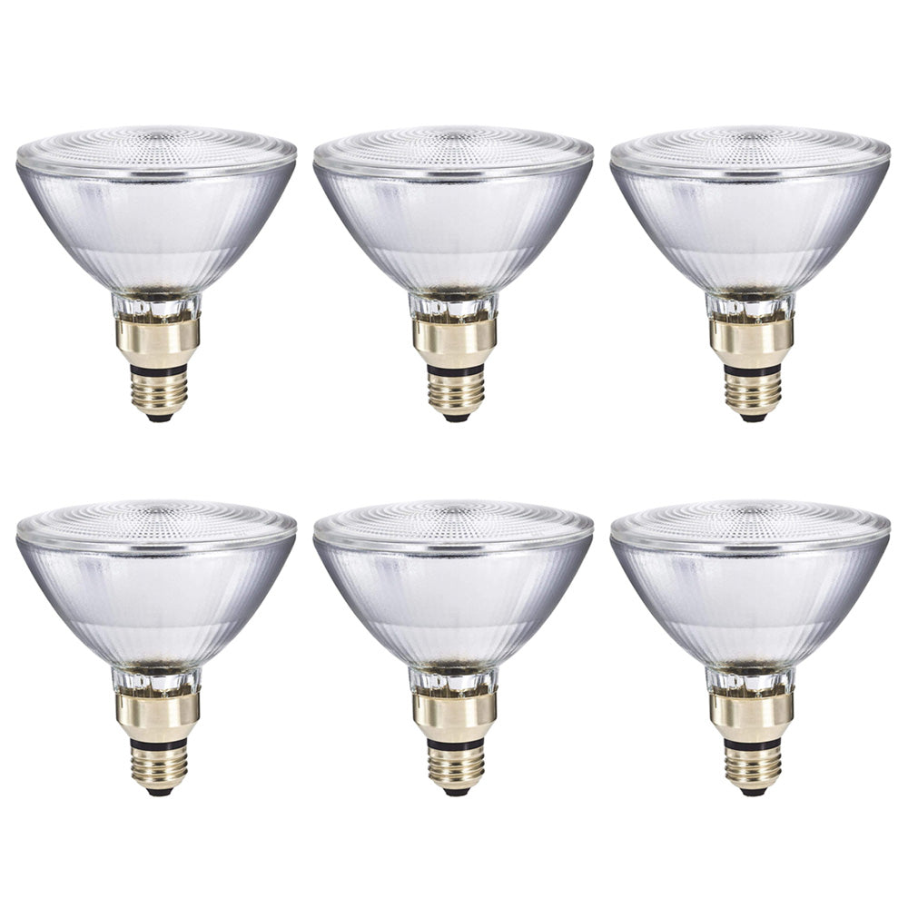 6Pk - Philips 72w PAR38 Flood FL25 Halogen Bulb - 90w Replacement