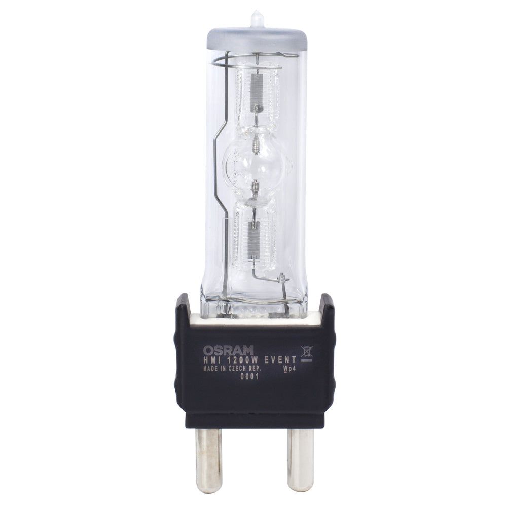 OSRAM HMI EVENT 1200W Metal Halide 6000K Single Ended G22 Base Light Bulb